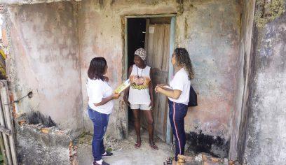 Programa Casa Melhor inicia visitas no bairro do Mangueiral