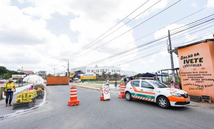 Obra na ponte da Rua do Telégrafo altera trânsito