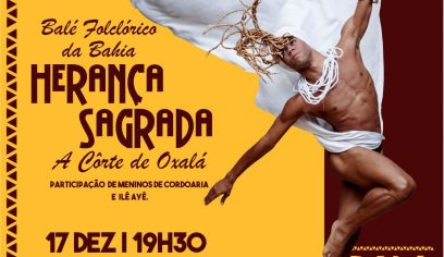Teatro Cidade do Saber recebe Balé Folclórico da Bahia