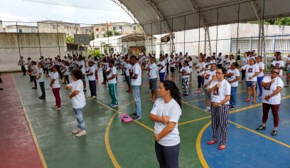 Sesau realiza 1° Encontro de Praticantes de Lian Gong