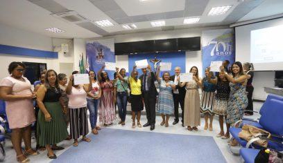Sehab entrega certificados de qualificação para moradores do MCMV