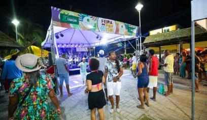 Feira do Pôr do Sol foi lançada neste fim de semana em Camaçari