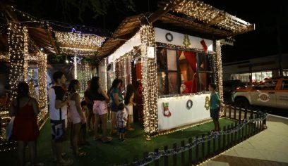 Praça Abrantes tem programação especial para o Natal