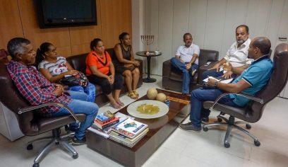 Prefeito recebe moradores de Jauá para discutir melhorias para a comunidade
