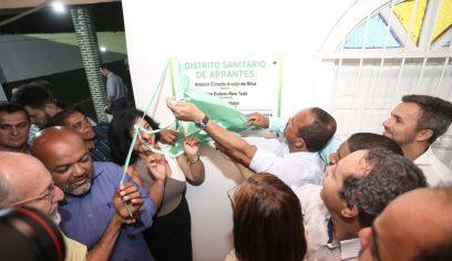 Distrito Sanitário de Abrantes é inaugurado