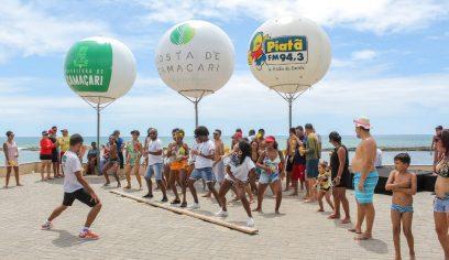 Prefeitura realiza ação promocional na Costa de Camaçari