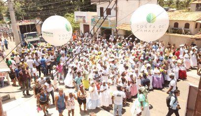 Grupos de cultura popular abrem Lavagem de Barra do Pojuca