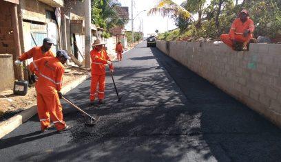 Ruas de Catu de Abrantes recebem melhorias de mobilidade