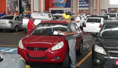 STT realiza ação de conscientização sobre vagas especiais em estacionamentos
