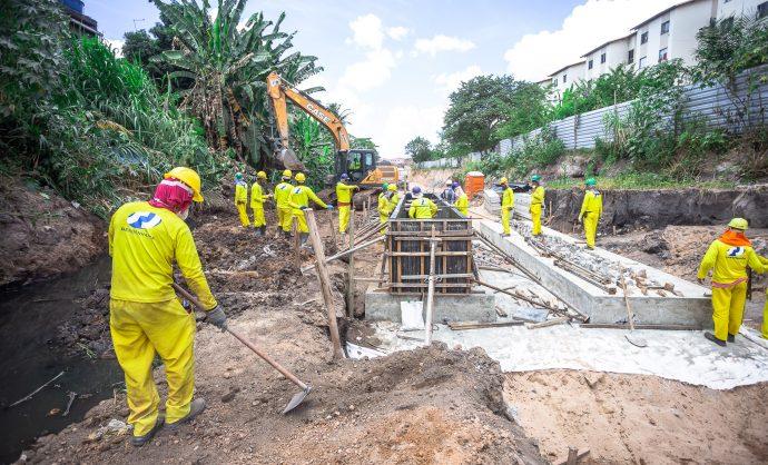 Comissão faz visita técnica às obras do Rio Camaçari