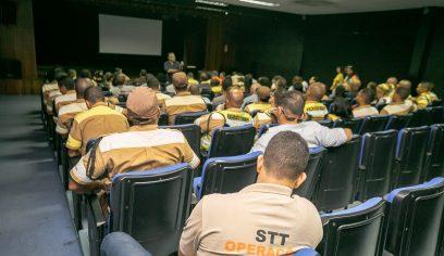 Servidores da STT participam de workshop institucional e motivacional