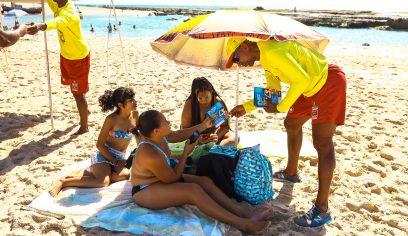 Defesa Civil dá orientações a banhistas para evitar afogamentos