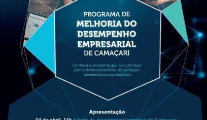 Programa de Melhoria do Desempenho Empresarial será apresentado em Camaçari
