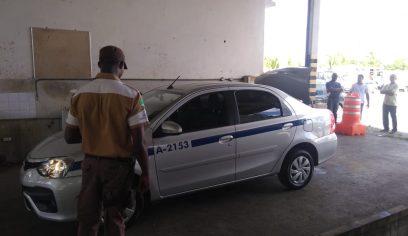 STT inicia vistoria dos táxis