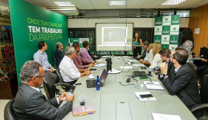 Parceria Público-Privada para a iluminação pública de Camaçari é tema de reunião