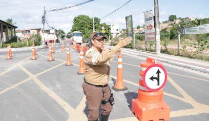 STT coloca em prática simulado nas imediações do bairro Camaçari de Dentro