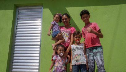 Casa Melhor: Prefeitura realiza entrega de imóvel reformado no Verdes Horizontes