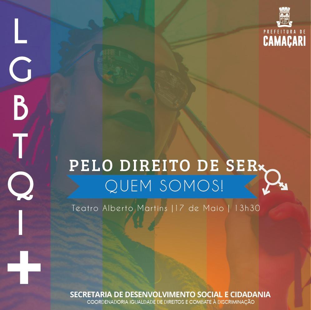 Sedes realiza evento em homenagem ao Dia Internacional Contra a Homofobia 2