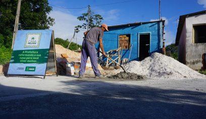 Casa Melhor realiza entrega de casa reformada em Parafuso