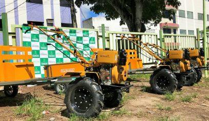 Sedap adquire motocultivadores para auxiliar na produção agrícola do município