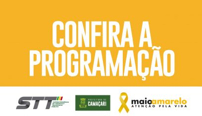 Camaçari conta com programação do Maio Amarelo