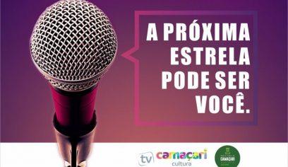 Inscrições para Concurso Cultural  A Voz de Camaçari encerram nesta quinta (30)