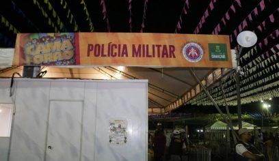 Segurança do Camaforró é item prioritário na festa