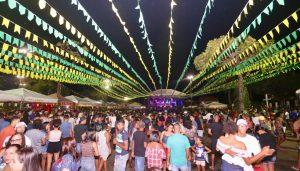 São João foi animado na Costa de Camaçari