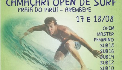 Camaçari Open de Surf acontece neste fim de semana em Arembepe