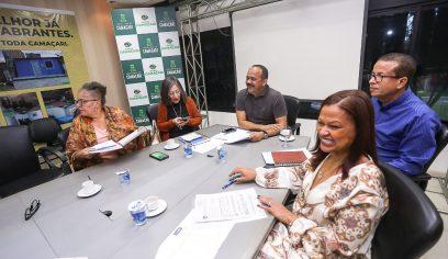 Prefeito Elinaldo tem encontro produtivo com representantes do Sispec