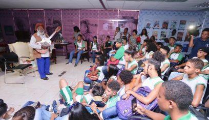 Participação de Bule-Bule marca Semana Jorge Amado Cultura e Arte na Cidade do Saber