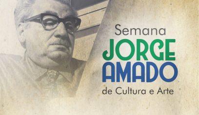 Semana Jorge Amado contacomprogramação diversificada na Cidade do Saber