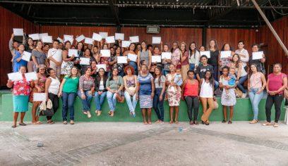 Parceria certifica mais de 130 mulheres em Camaçari
