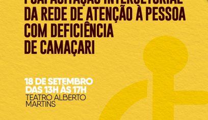 Encontro discutirá desafios e avanços da pessoa com deficiência em Camaçari