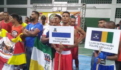 Atletas de Camaçari conquistam medalhas no 7º Campeonato de Boxe Olímpico