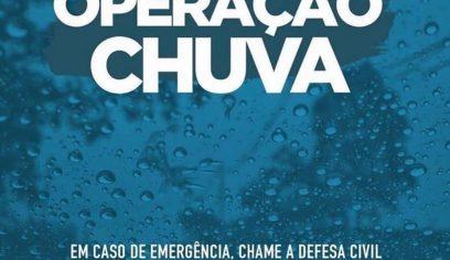 Defesa Civil de Camaçari está em alerta por conta da chuva