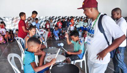 Serviços de Convivência e Fortalecimento de Vínculos chega à Costa de Camaçari