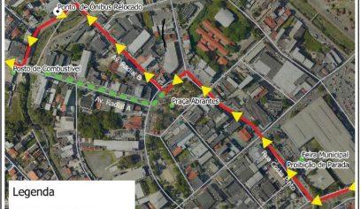 Ônibus que fazem linha intermunicipal ganham novo ponto de parada no Centro