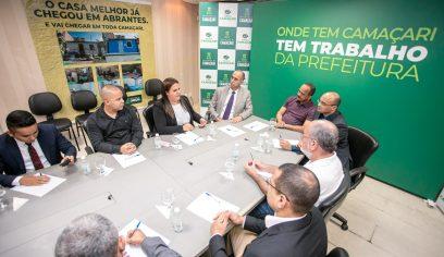 Segurança pública é tema de reunião entre prefeito e representante do governo federal