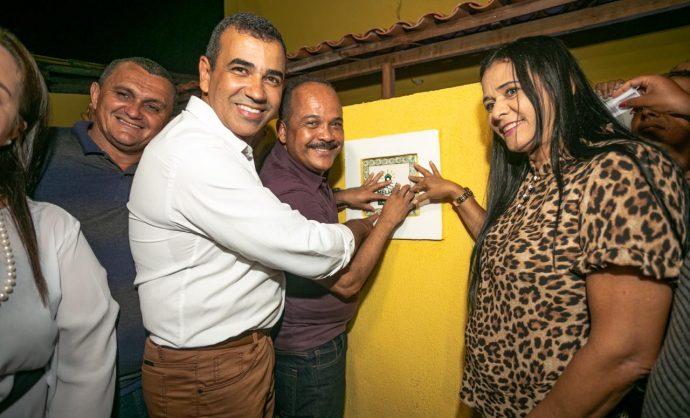 Com dupla celebração, Sehab inaugura nova sede e entrega casa melhorada