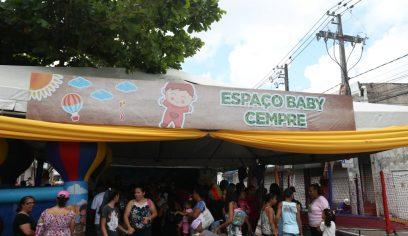 Diversos serviços são ofertados na 3ª edição do Dia das Crianças em Camaçari