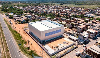 Construção do Centro de Iniciação ao Esporte está em fase avançada