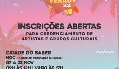 Secult disponibiliza edital de credenciamento para artistas e grupos culturais