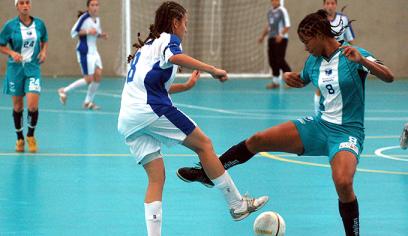 Futsal feminino é a modalidade da 3ª etapa de festival estudantil
