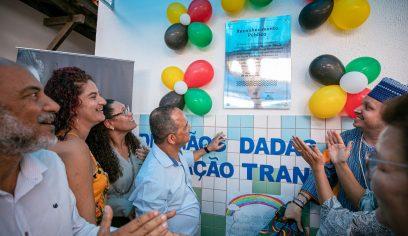 Escola Municipal Zumbi dos Palmares recebe homenagem do Governo do Estado