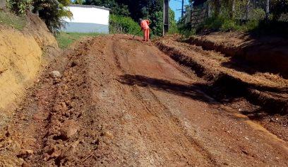 Prefeitura realiza pavimentação asfáltica em ruas de Cajazeiras de Abrantes