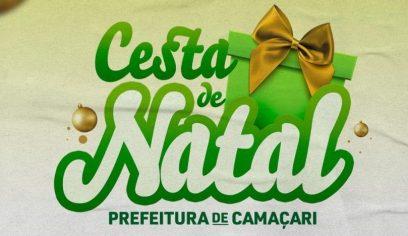 Entrega das Cestas de Natal acontece neste fim de semana
