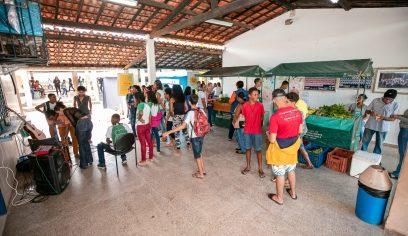 Escola do Parque Verde realiza feira orgânica