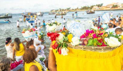 Costa de Camaçari celebra Yemanjá no domingo (02)