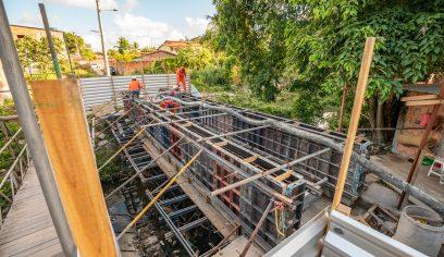 Prefeitura realiza construção de pontes em três localidades